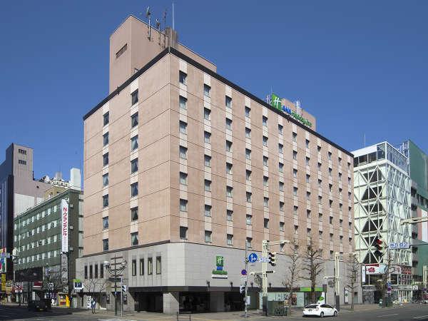 ANAホリデイ・イン札幌すすきのの外観