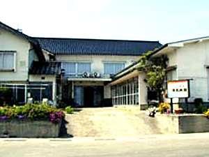 禄光旅館の外観