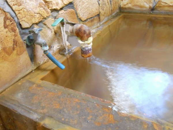 【温泉】100%源泉掛け流しの湯です!
