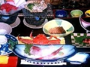 海鮮プラン 料理一例(季節により魚介の種類が変わります)