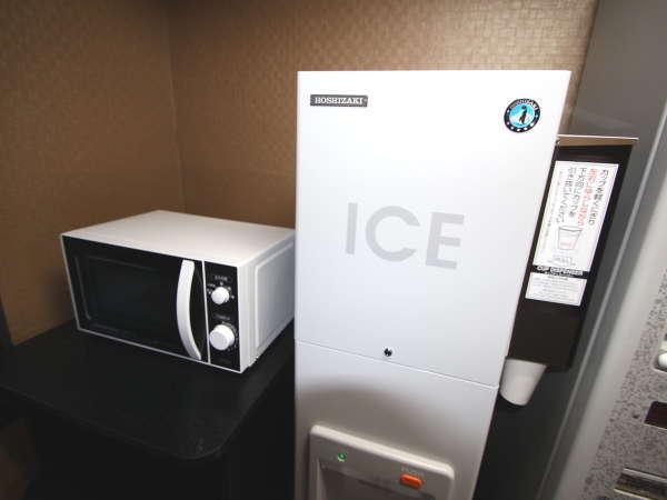 電子レンジと製氷機