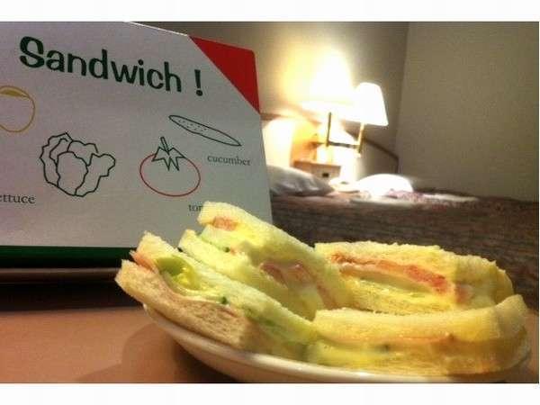 【ラビアンローズのサンドイッチ】プラン◆朝食バイキング付◆