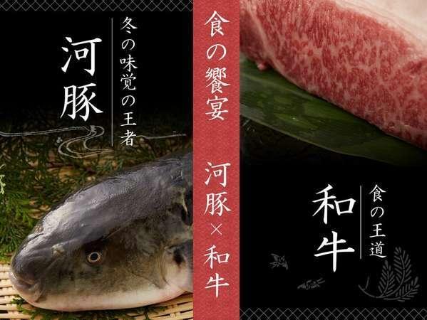 【ふぐ刺し&和牛ステーキ】 冬季限定 食のよくばりプラン