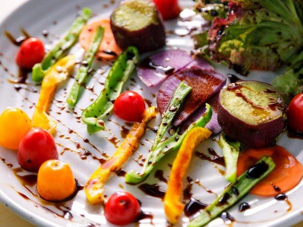 【夕食一例】サラダグリル