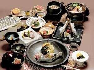 お料理の一例 おなかも満足の量が評判