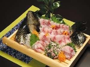 鯉姿造り 追加お料理にどうぞ