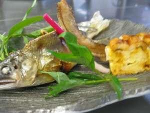 鮎料理は、夏にはぴったりです。