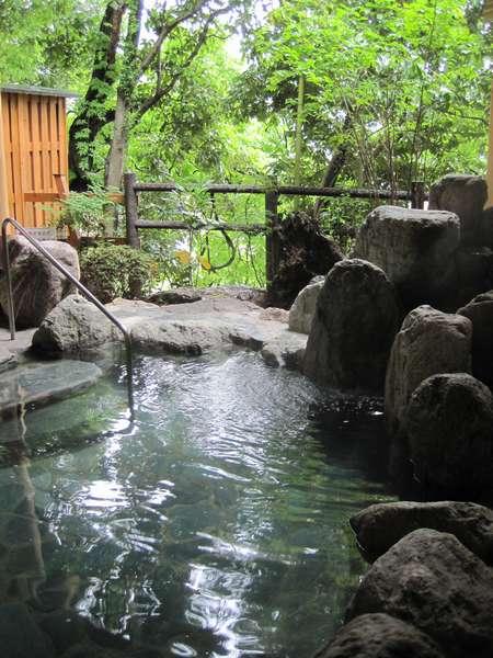 露天風呂♪姫の湯(ご婦人用)です^^