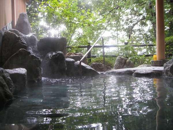 朝の露天風呂から・・心の休日にしていただきたい(^-^)