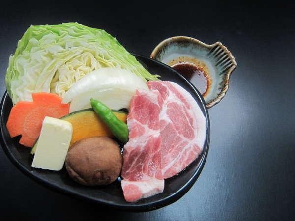 選べるお鍋・陶板焼き♪こちらは、豚肉です♪