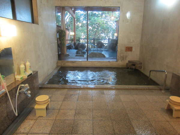 大浴場と露天風呂と♪