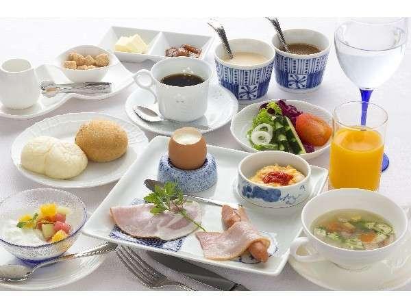 【1泊朝食付】リゾートの朝にふさわしい洋食セットで爽やかな朝のひとときブレックファストプラン