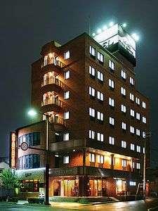 姫路シティホテルの外観
