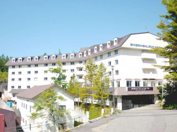 志賀ハイランドホテルの外観