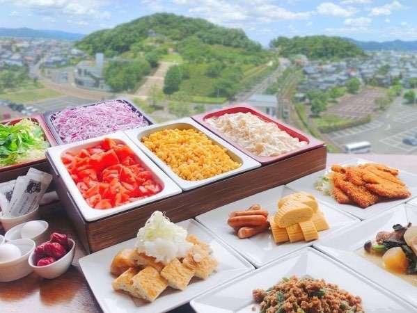 【朝食】和食料理人がつくる本格朝食バイキングを無料でご用意しております♪
