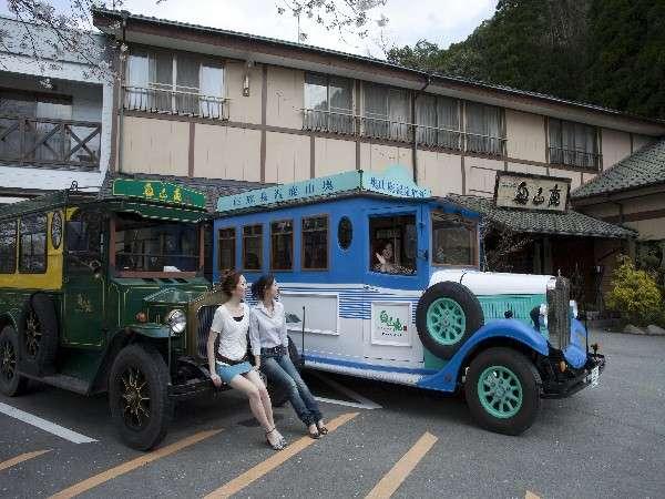 奥山鹿温泉旅館の外観