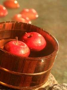 りんご風呂(冬季限定)