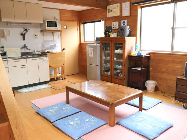 【コテージA】まるで自分の別荘のように、のんびりとお過ごしください。