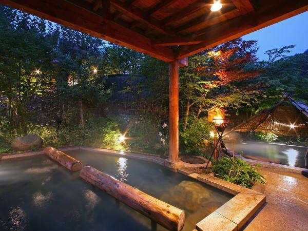 愛真館【夢枕の湯】今宵はこの湯に身を委ね、またたく夜空に心をとかしましょう。