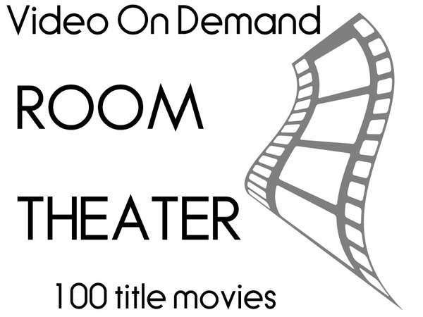 【VOD付】162タイトル以上の映画が見放題 お部屋が映画館に♪