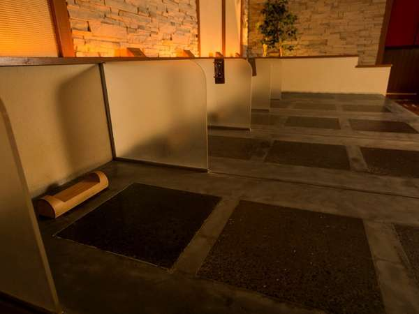 【岩盤風呂】営業時間 15:00~23:00(受付終了22:00)