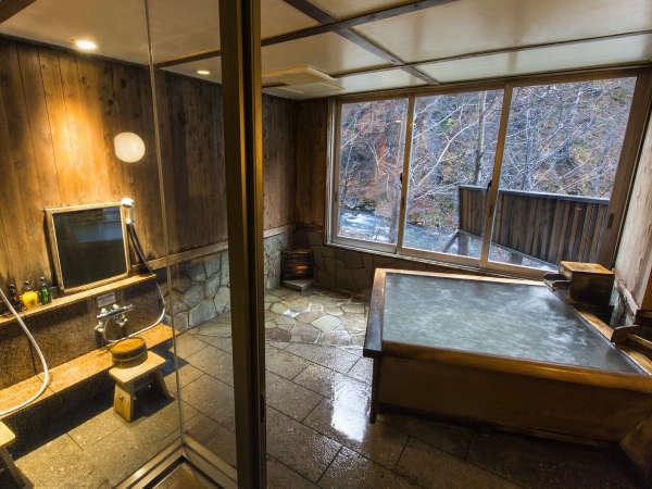 【貸切風呂】周囲を気にせず、ゆっくりと温泉をお楽しみください