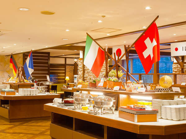 【ル・マッターホルン】スイス・イタリア料理をモチーフにしたオリジナルメニューを提供