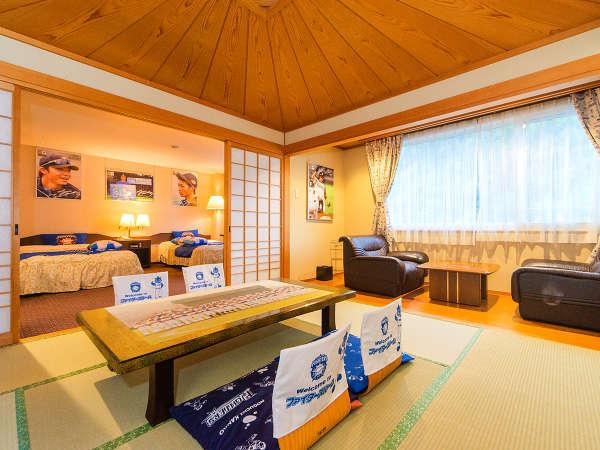 【ファイターズルーム】ファンには嬉しいファイターズ仕様のお部屋に宿泊!