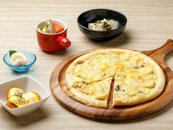 【KURODAKE】<山ガールは「洋食」が大好き!>クアトロフォルマッジピザなど