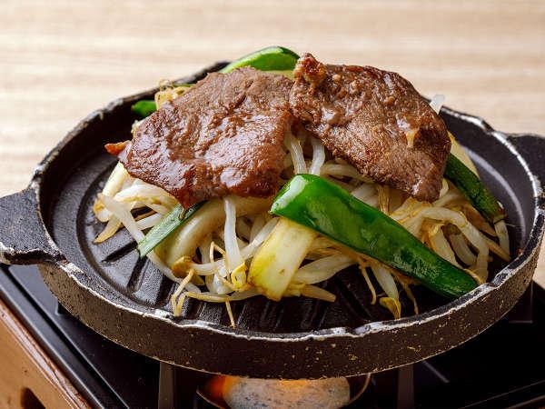 【ル・マッターホルン】<ファイヤーグルメ>エゾシカ肉の「味付きジンギスカン」