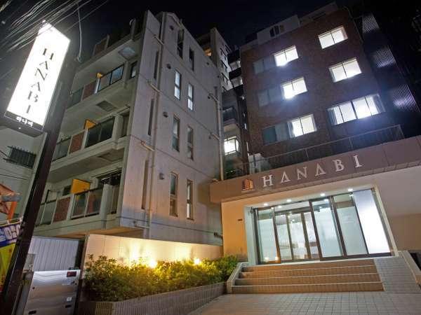 HOTEL HANABIの外観