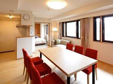 【スイートルーム確約】 キッチン付き70平米のお部屋で広々快適プラン♪ 【R】