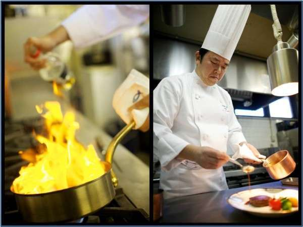 【文豪や著名人にも愛されたフレンチ】★老舗温泉旅館で至福のフレンチフルコース(French cuisine)