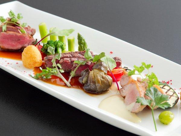 ★新登場!★ 〜Trois viands〜 3種類のお肉料理が一度に楽しめる期間限定特別グルメプラン♪