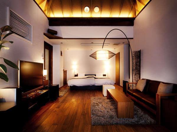 SUITEROOM(月の間)素泊まり(食事なし)プラン「客室専用露天風呂付客室」