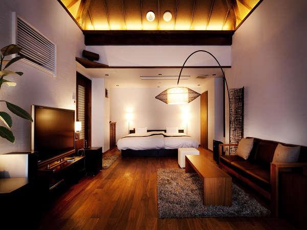 SUITEROOM【素泊まり(食事なし)】プラン「客室専用露天風呂付客室」