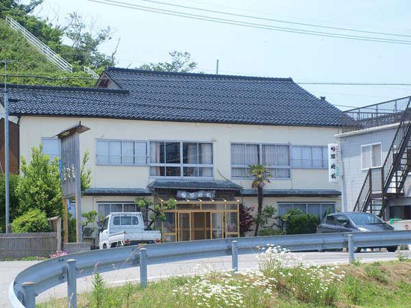 禄剛崎温泉(湯元) 漁師の宿 狼煙館の外観