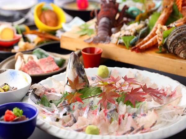 豊後水道絶品海鮮が自慢の料理宿 木蓮
