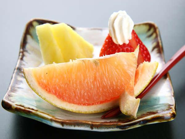 *フルーツでビタミン摂取♪