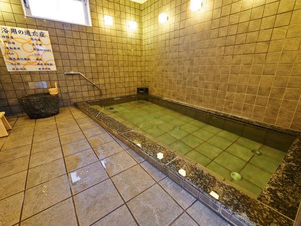 平川市から直送で運ばれてくるのは、本物の天然温泉でございます!