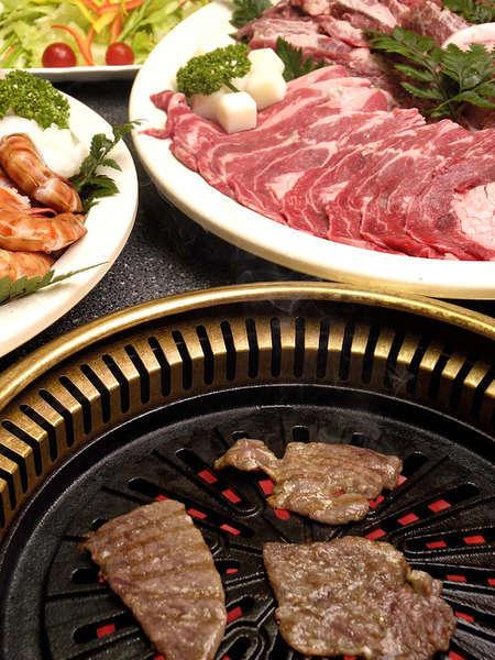 【1泊2食付】~焼肉コテージプラン~