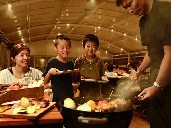 【1泊2食付】~本格BBQディナー【Special】~