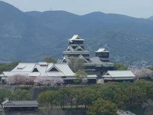 【ファミリープラン】熊本城が見える部屋♪ 朝食付