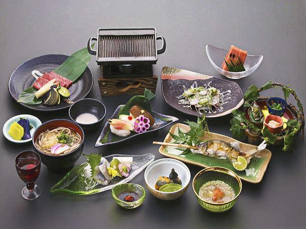 夕食料理(旬菜)
