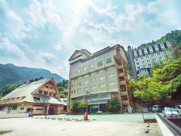 空気と水の綺麗な祖谷にある「ホテル秘境の湯」皆様をお待ちしております
