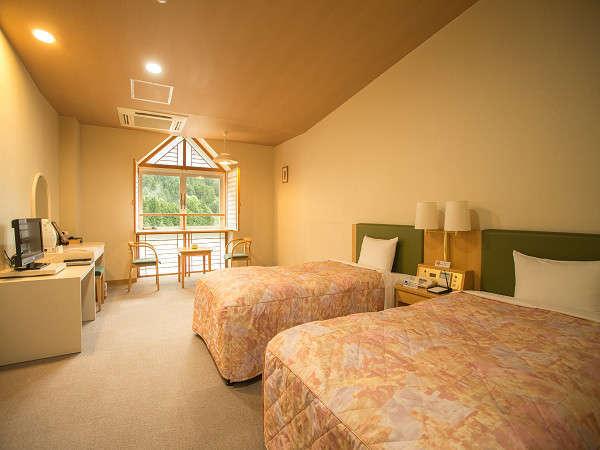 別館洋室 2ベッドを備えた洋室タイプのお部屋