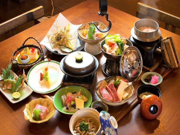 秘境祖谷の四季を旬食材で贅沢に愉しむ「極」KIWAMI会席