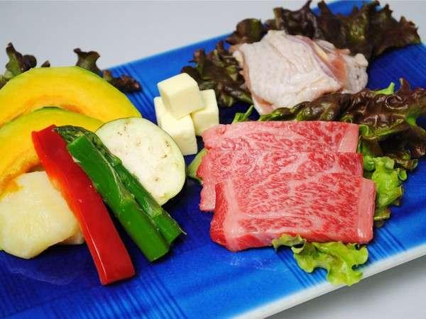 〇やみぞお薦め!茨城県ブランド「常陸牛」&奥久慈地鶏「奥久慈しゃも」欲張りぜいたくグルメプラン