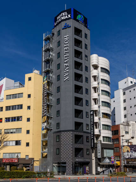 ホテルリブマックス浅草橋駅前の外観