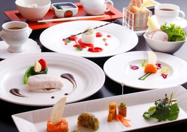 【Dinner Plan】ダイニング菜 お箸で食べられるフレンチプラン 〜夕朝食付き〜